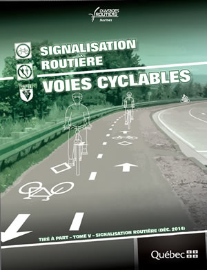 Signalisation routi�re � voies cyclables