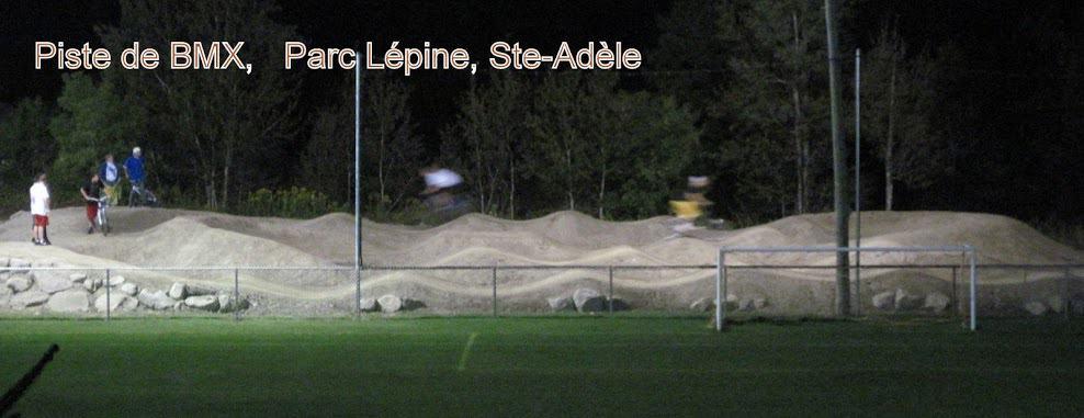 Piste de BMX (pumptrack) de Ste-Adèle (Sainte-Adèle (secteur Mont-Rolland))
