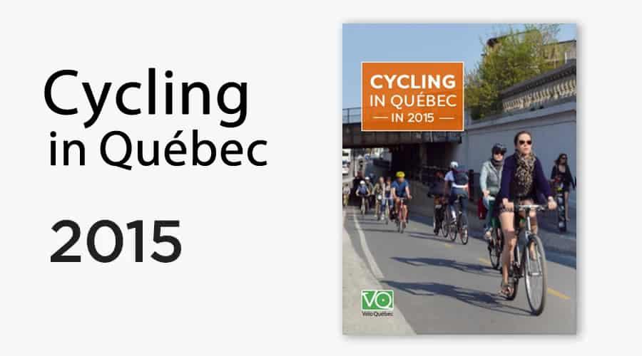 Cyclig in Québec 2015