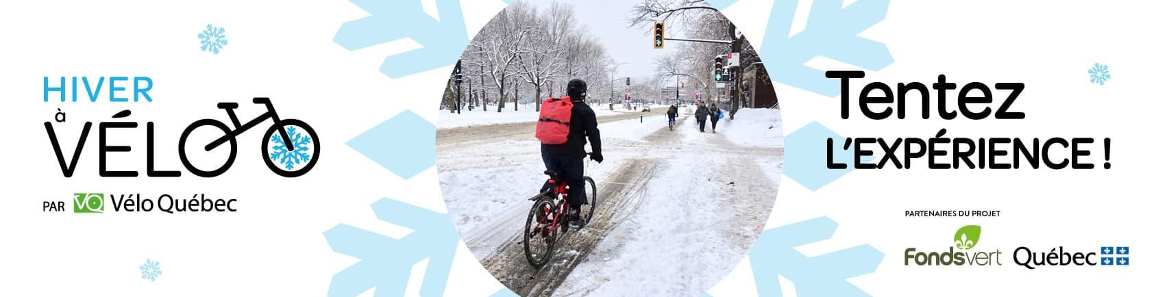 Hiver à vélo