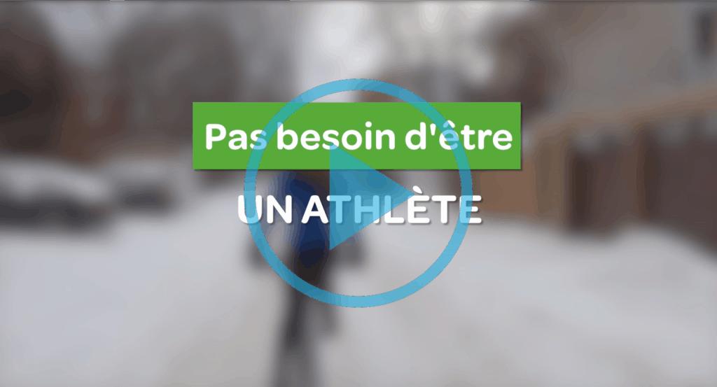 Pas besoin d'être un athlete